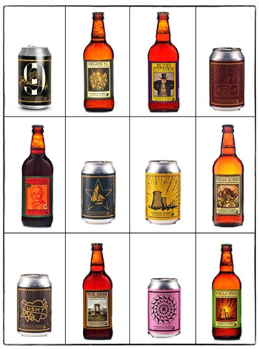 Pick & Mix 12 cans/bottles from our full range!